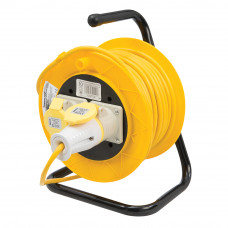 Cable Reel 16A 110V Freestanding - 2 Gang 25m