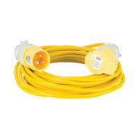 Defender Loose Lead Yellow 1.5mm2 10m 110V